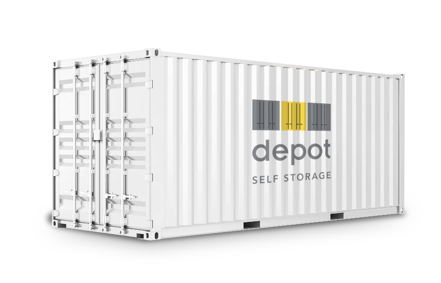 image of our storage container for rent