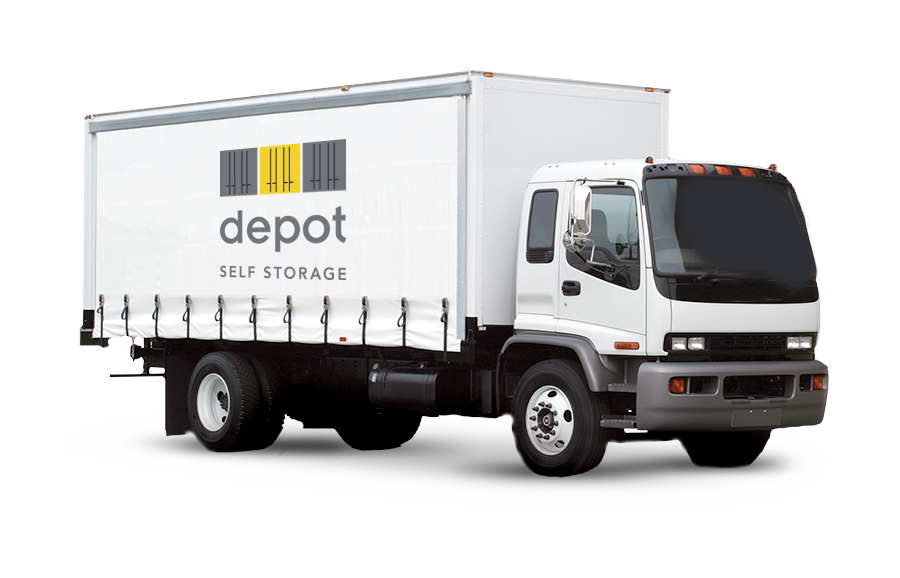 image of a truck for storage